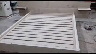 Кровать из массива Дерева готова под покрытие(, 2017-01-18T10:17:59.000Z)
