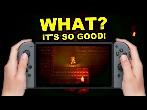 WHOA! Nintendo Switch Exclusive SQUARE ENIX RPG is… AMAZING!