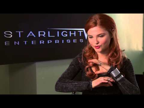 "Jem and the Holograms: Stefanie Scott ""Kimber"" Behind the Scenes Movie Interview"