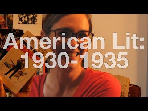 American Literature | 1930-1935