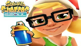 iGameBox🤩Subway Surfers SEOUL HD Fullscreen Elf Tricky Gameplay For Kid#9