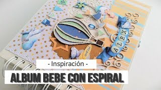 "ALBUM DE BEBE CON ESTRUCTURA ""FROM THE SKY"" CON KORA PROJECTS - INSPIRACION 