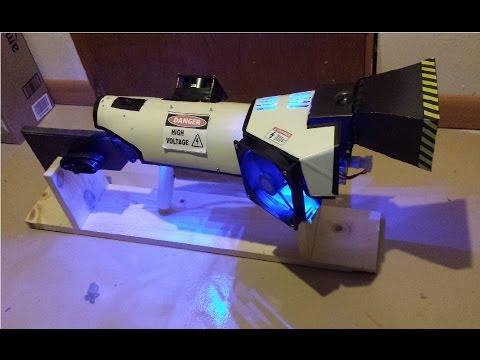 Ultimate HERF Gun- Directional Microwave Blaster!