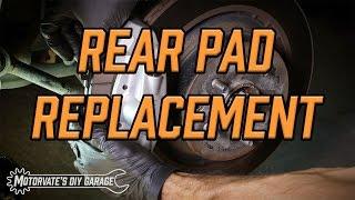 Rear Brake Pad Replacement: G37 Sport / 370Z - Motorvate's DIY Garage Ep. 9