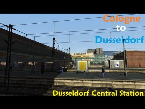 railworks 3 hd train simulator 2012 cologne to dusseldorf 5 youtube. Black Bedroom Furniture Sets. Home Design Ideas