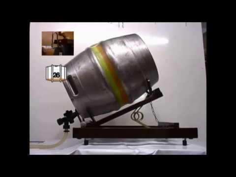 Cask Autotilt Stillage, Beer Cellar Real Ale Barrel Auto-tilt How It Works