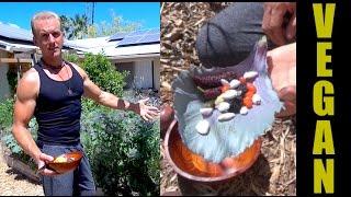 VEGAN SUPERFOOD BURRITO - Straight Outta The Backyard Garden