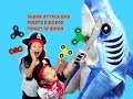 Shark Attack Bad Pirate Kids for Fidget Spinners