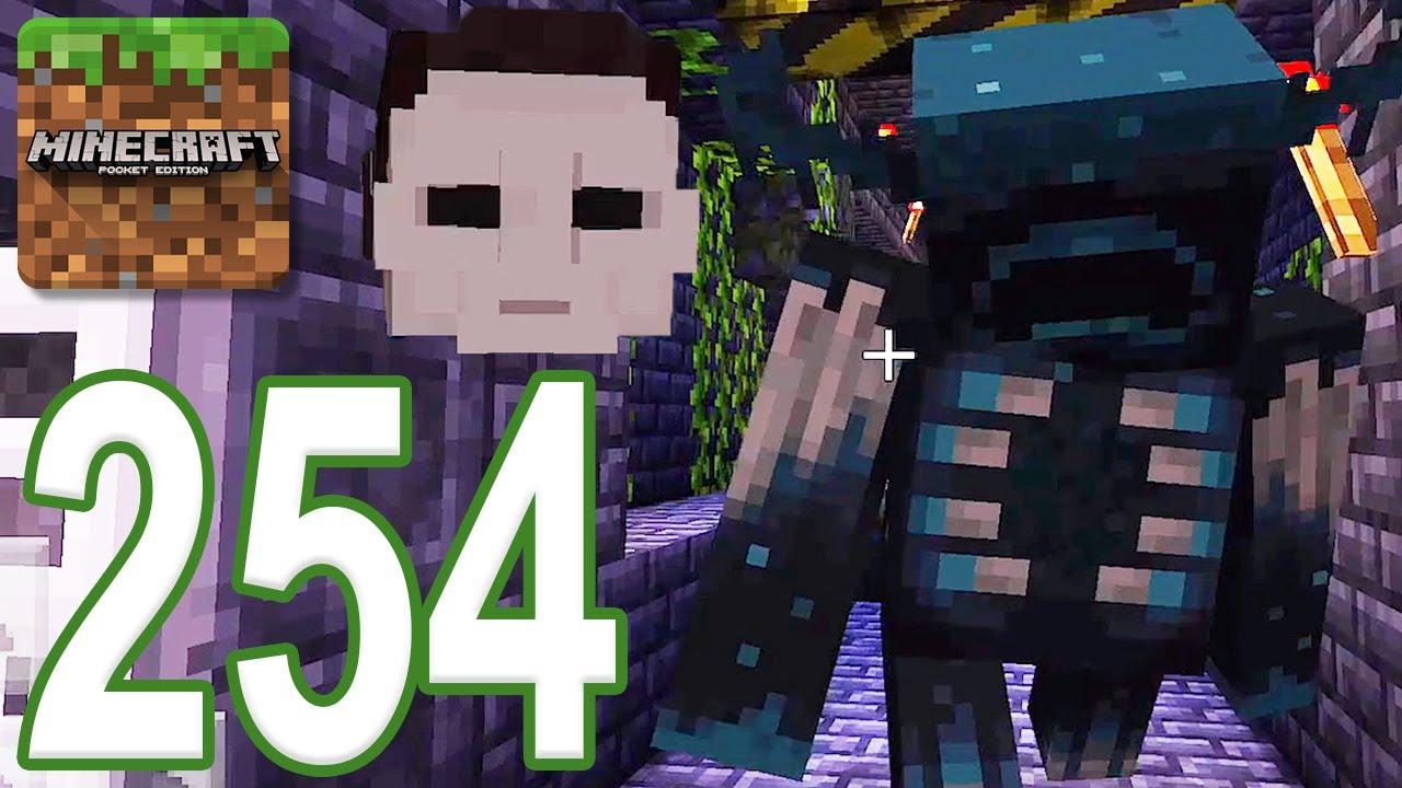 Minecraft: PE - Gameplay Walkthrough Part 254 - Halloween: Michael Myers (iOS, Android)