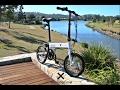 Uhvo Compact Foldable E Bike Review E Biking Now mp3
