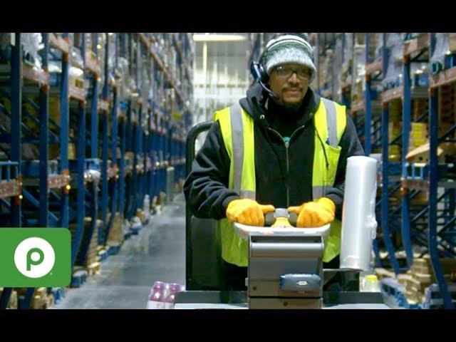 Publix Distribution Job Warehouse Selector Youtube
