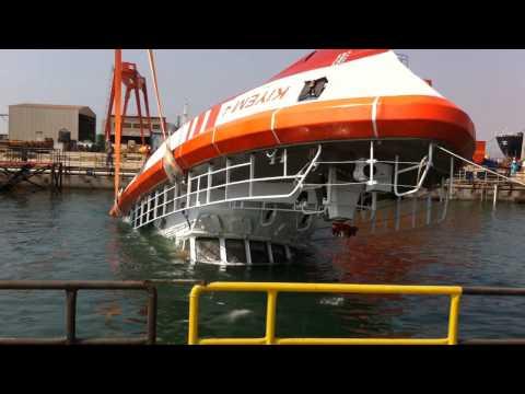 Özata Shipyard-Sar Boat Selfrighting Tanıtım