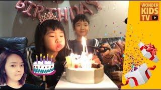 빰빠라밤! 후짝짝 생일파티~ 생일이 똑같다! happy birthday party l surprise birthday party l party l 생일축하
