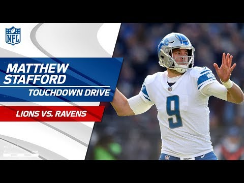 Big Catches by Jones & Roberts Set Up Stafford's TD Pass to Bellore! | Lions vs. Ravens | NFL Wk 13