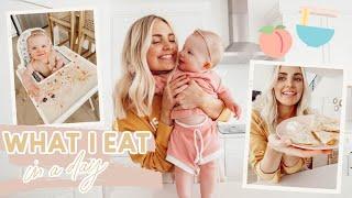 Vegan What I Eat in a Day! Mom & Baby!! | Aspyn Ovard