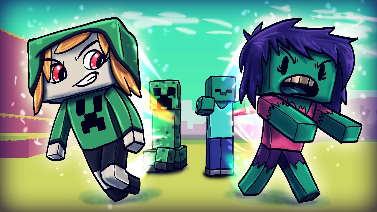 Minecraft   HOW TO TURN MOBS INTO GIRLS - Girl Monster Mod! (Girlfriends)