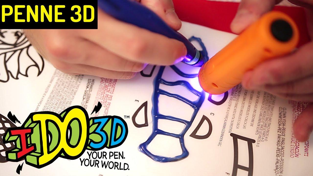 Penna 3d Ido3d Come Funziona Prove Disegni E Scritte Youtube