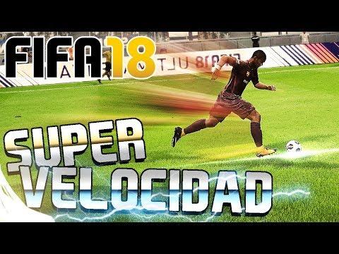 FIFA 18 - COMO CORRER SUPER RÁPIDO | TUTORIAL Y TRUCO