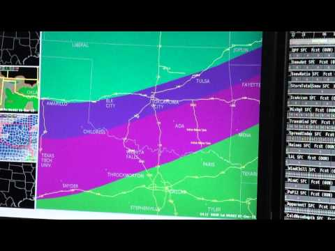 Behind the Scenes at NWS Norman: Forecasting a Winter Storm