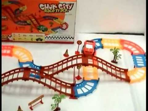 Chuk City Race Track Train Set With Slope Tracks, buy online @ ebay. chennai india
