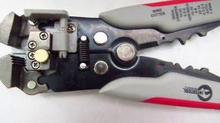 STRIPPERS: Клещи для снятия изоляции INTERTOOL HT-7020