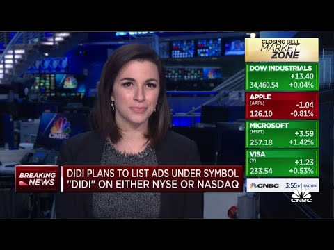Didi Jumps After Second-Biggest U.S. IPO by a Chinese Company