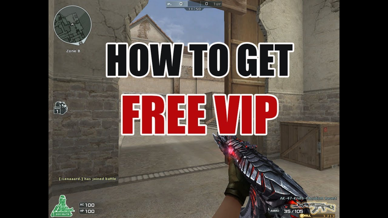 How to Get Free VIP in Crossfire