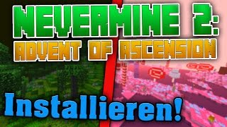 Minecraft NERO Mod installieren! • Nevermine 2 downloaden! • (Tutorial) [Deutsch]