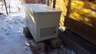 Gaz generator FAS test run 8-1/VP (kuch)