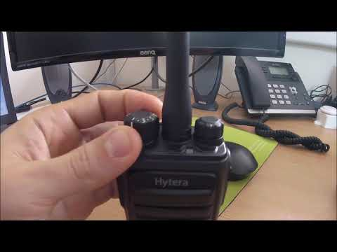 Hytera PD505 02 - Channel Button
