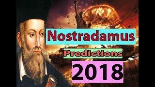 Nostradamus predictions 2018 in hindi | Nostradamus predictions about world war 3
