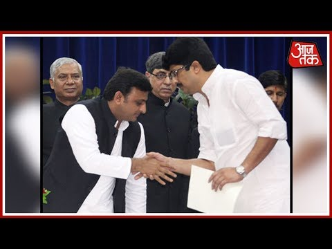 SP President Akhilesh Yadav Thanks Raja Bhaiya For The Vote Via Tweet