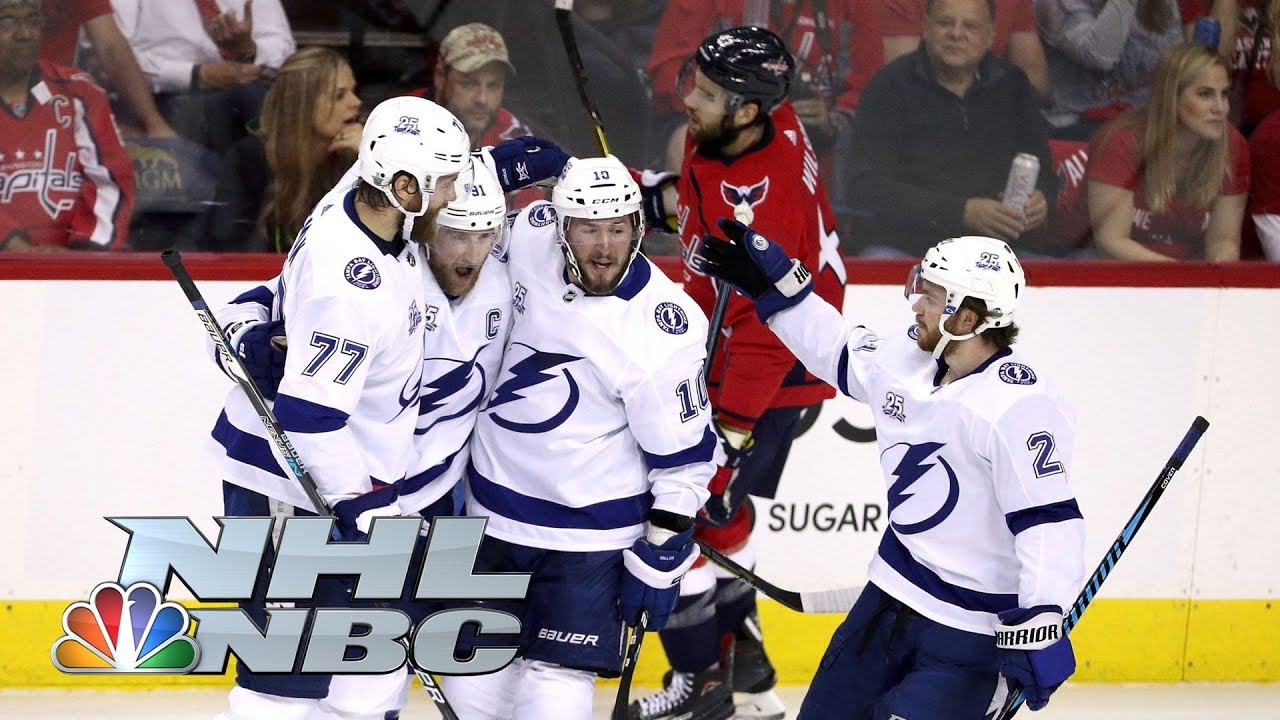Lightning power past Capitals in Game 3 on the road I NHL I NBC Sports