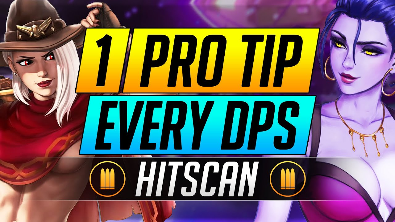 1 PRO TIP for Every DPS Hero - INSANE Hitscan Tips to RANK UP - Overwatch Advanced Guide