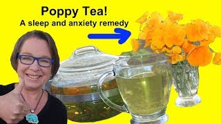 ✅ Poppy Tea, A Natural Remedy for Insomnia and Anxiety!
