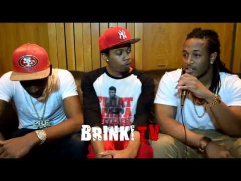 Young Dolph & Louie Casino #BrinkTV In-Studio Interview