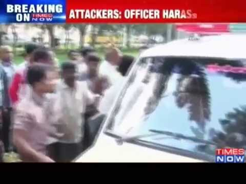 Woman IAS officer assaulted in Mysore - TOI