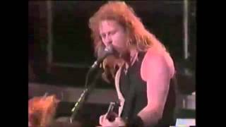 Metallica - Harvester of Sorrow live in Moscow 1991