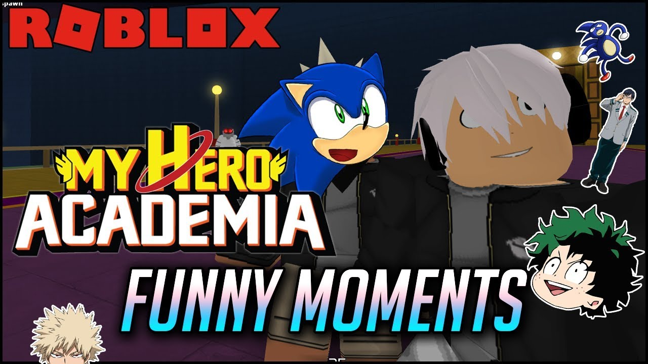 Roblox | My Hero Academia Funny Moments: Engine Quirk Free