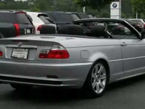 2002 BMW 3 Series 325Ci 2dr Convertible Convertible  YouTube