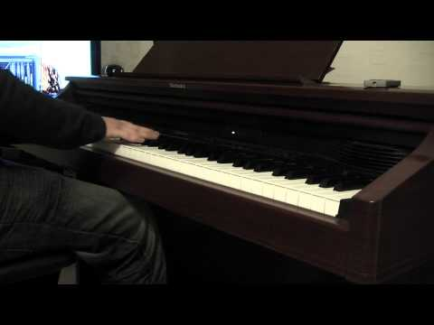Elton John - Candle In The Wind 1997 Piano Cover