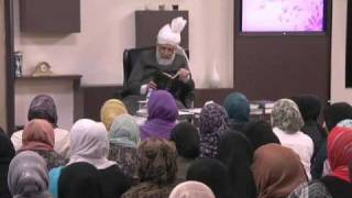 Gulshan-e-Waqf-e-Nau (Lajna) Class: 24th April 2011 (Urdu)