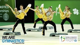 2018 Aerobic Worlds, Guimaraes (POR) - Highlights DANCE & STEP - We Are Gymnastics !