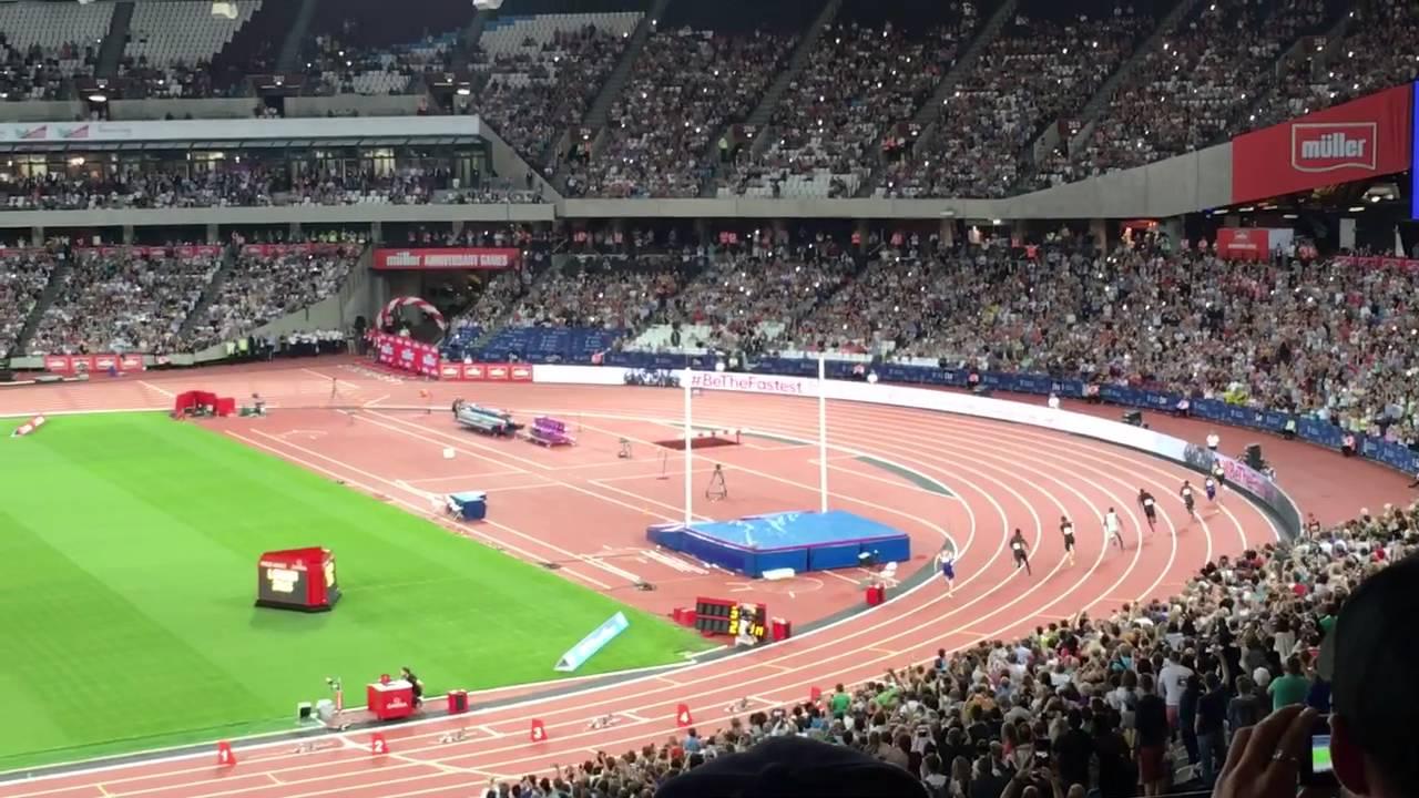 Muller london anniversary games 2016 mens 200m final usain bolt