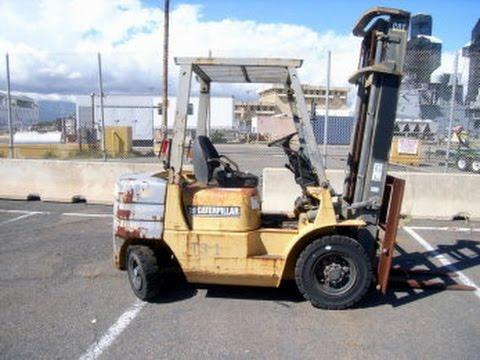 Caterpillar Forklift Model# DP25T on GovLiquidation com