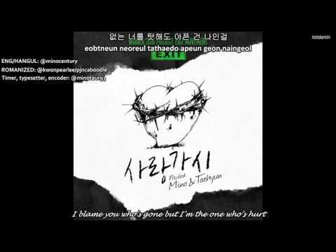 [ENG/HAN/ROM] WINNER - 'PRICKED'   사랑가시 (민호&태현) FULL