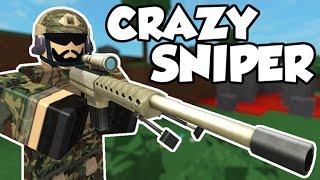 Roblox Crazy Sniper Wreckage!