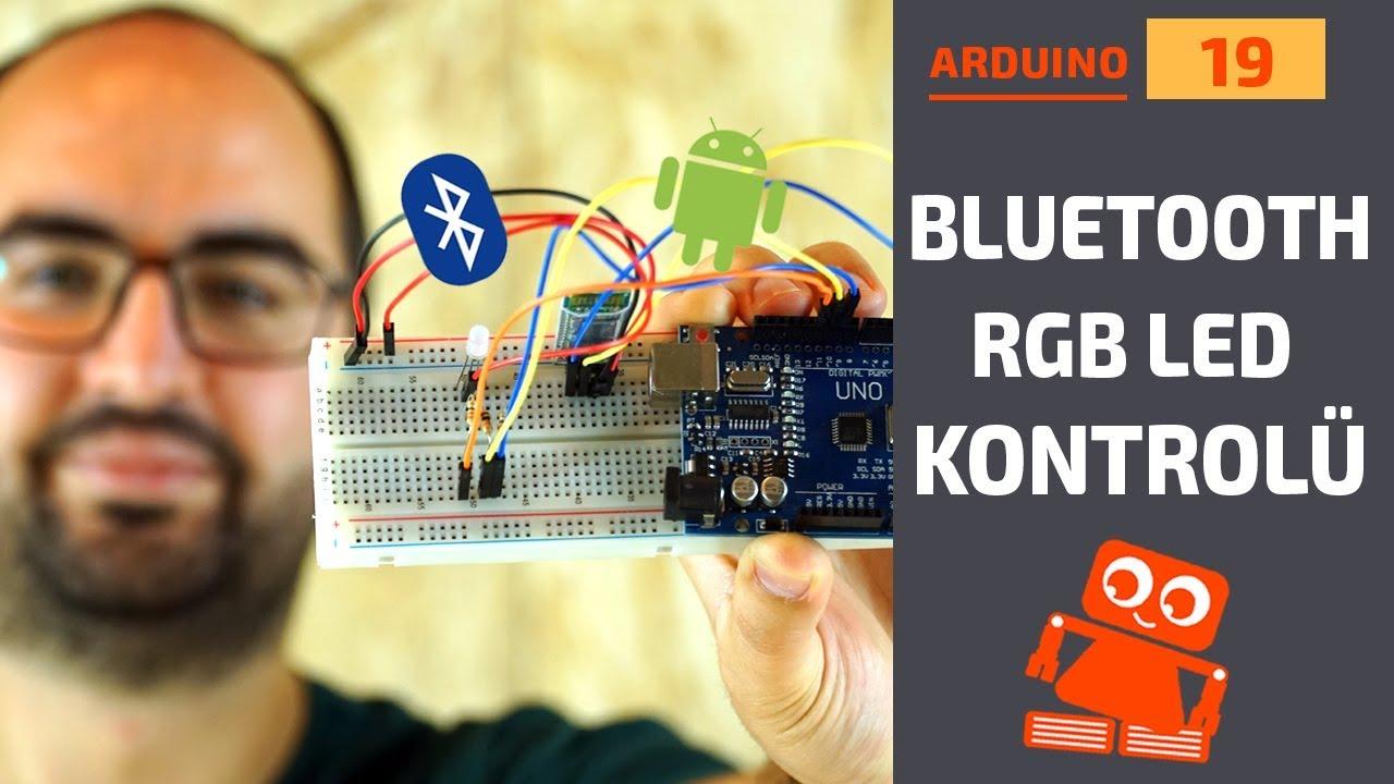 Arduino Bluetooth RGB LED Kontrolü (HC06 Bluetooth Modül)