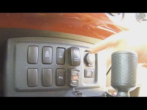 hqdefault fj cruiser volt meter usb charge outlets ports after market