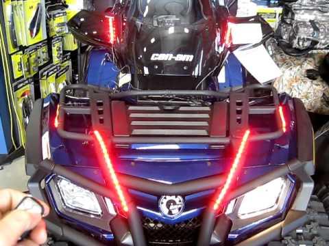 Security Super Bright 72 Red Led Light Strip Kit 6 Strips